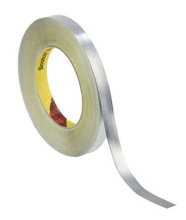 Photo of 3M 420 Conductive Lead Tape 0.17mm W.12mm L.33m 12MMX33M Rubber +106°C / -54°C