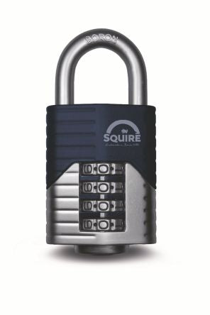 Photo of Squire Padlock 40mm Die Cast Combination Padlocks 20mm Shackle Security Locks