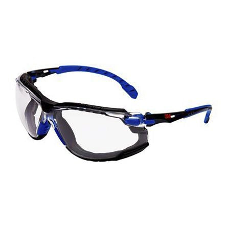 Photo of 3M Solus™ 1000 Safety Glasses Spectacles & Shield Anti-Mist S1101SKT