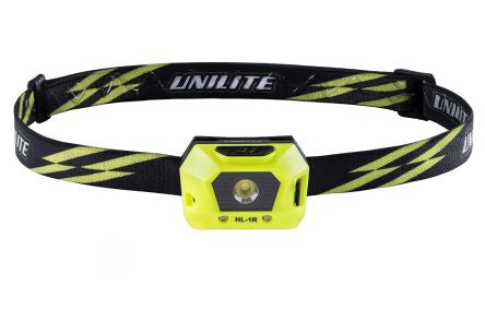 Unilite LED Head Torch - Rechargeable, 125 lm HL-1R