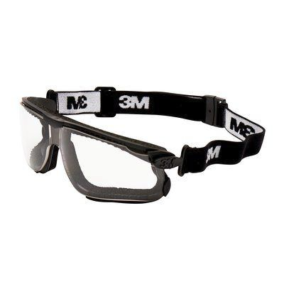 Photo of 3M Maxim, Scratch Resistant Clear Polycarbonate (PC) Safety Goggles,13330,3M™ Maxim™ Hybrid Safety Goggles, Clear Lens