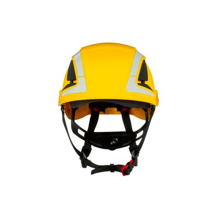 Photo of 3M Hard Hats SecureFit™ Safety Helmet Reflective Yellow ABS Hard Hat Ventilated X5002V-CE 3M™