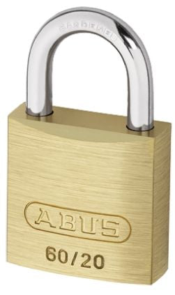 Photo of ABUS Padlock 20mm Brass Steel Key Padlocks Shackle Size 4mm x 11mm Brass Locks