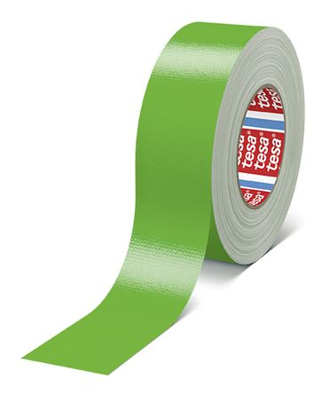 Photo of Tesa 4688 Green Cloth Tape 50mm x 50m 50X50 Green PE 0.26mm +110°C Rubber 7000V