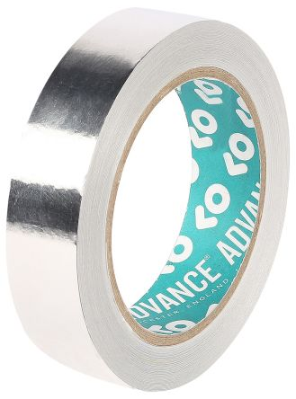 Photo of Advance Tapes AT521 Conductive Aluminium Tape 25mm x 33m EMI/RFI Shielding Foil