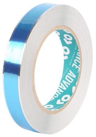 Photo of Advance Tapes AT541 Conductive Aluminium Tape Foil Masking EMI/RFI Shielding Acrylic +155°C / -20°C BS EN 60454 - Part 2