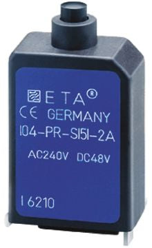 ETA 104-PR 1 Pole Thermal Magnetic Circuit Breaker 104-PR-2A