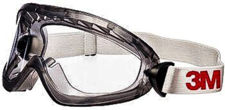 Photo of 3M 2890 Anti-Mist Coating Clear Acetate Safety Goggles,2890SA,3M™ Safety Goggles, Sealed, Anti-Fog, Clear Acetate Lens