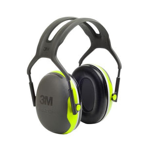 Photo of 3M™ Ear Defenders Peltor™ X4 33dB Ear Protectors & Headband X4A-GB Black