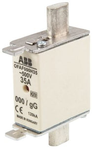ABB 35A 0 HRC Centred Tag Fuse, gG, 500V 1SCA022627R1040