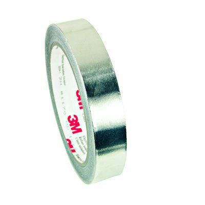 Photo of 3M 1170 Conductive Aluminium Tape 0.08mm W.19.1mm L.16m 1170-3/4