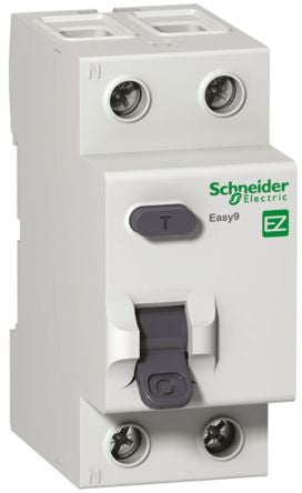 Schneider Electric 2 Pole Type AC Residual Current Circuit Breaker, 80A EZ9, 30m