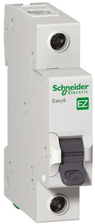 Schneider Electric 10A 1 Pole Type C Miniature Circuit Breaker Easy 9 EZ9