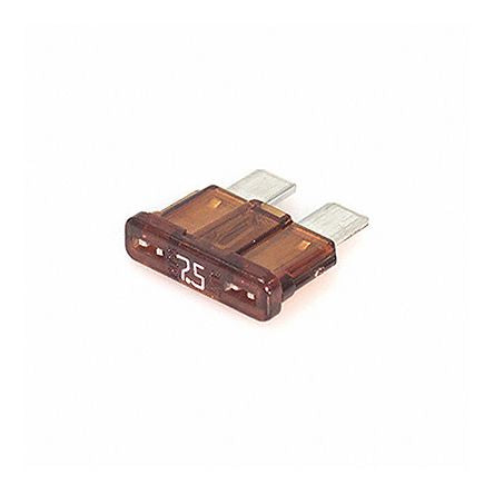 Photo of Cooper Bussmann 7.5A Brown Car Fuse, 32V dc ATC-7-1-2 Automotive Fuses