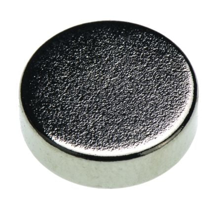 Eclipse Neodymium Magnet Disc Magnets 1.51kg 2mm x 12mm Bag of 10 N827RS
