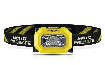 Unilite ATEX-H2 ATEX LED Head Torch, 225 lm ATEX-H2