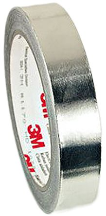 Photo of 3M T117015 Conductive Aluminium Tape 0.08mm W.15mm L.16m Acrylic +130°C / -40°C