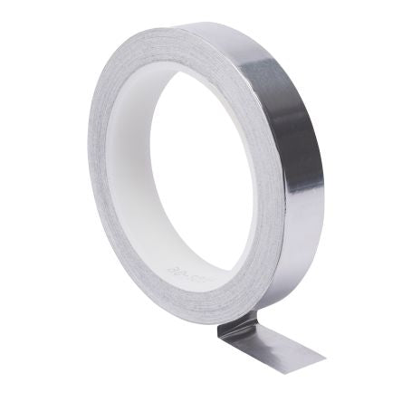 Photo of 3M Conductive Aluminium Tape 25mm x 16m  EMI Aluminum Foil Shielding T117025 Acrylic +130°C / -40°C