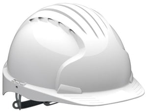 Photo of JSP Hard Hat EVO5 Safety Helmet White ABS AKE170-000-100 EVO5® Safety Helmet