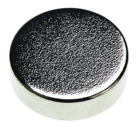 Eclipse Neodymium Magnet Disc Magnets 0.47kg Width 8mm N839RS Tube of 50