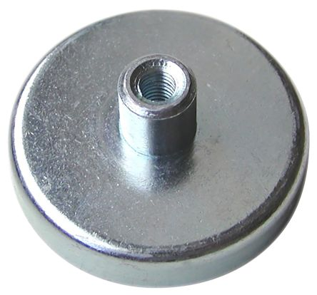 Eclipse 100mm Ferrite Magnet E874RS Pot Magnets Threaded Hole