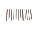 photo 2 of RS PRO 165mm, 12 pieces Standard Needle File Set, Barrette, Flat/Warding, Half-Round, Oval Needle Files