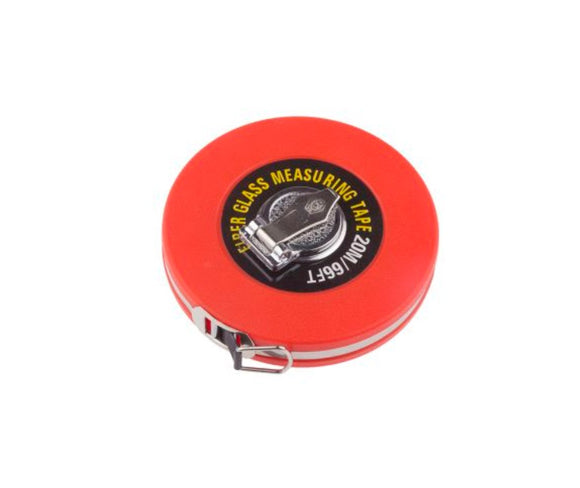 photo 1 of 20m (66ft) Cloth Tape Measure, Class III Metric & Imperial Fibre Glass Measuring Tapes