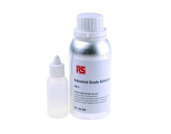photo of 250 ml Liquid Acrylic Adhesive, Acrylic Bonder AB2 Two Part Anglosol Cement 700
