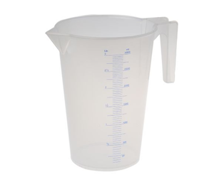 photo of RS PRO 3L PP Measuring Jug - Heavy Duty Industrial Plastic Measuring Jugs