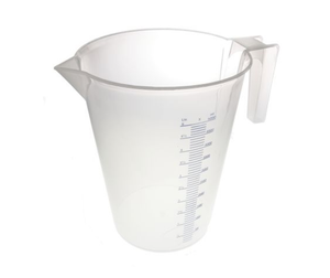 photo of RS PRO 5L PP Measuring Jug - Heavy Duty Industrial Plastic Measuring Jugs