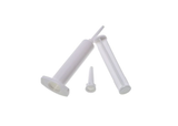 photo 1 of 6mL Plastic Syringe, Adhesive Dispensing Syringes 10 PACK for Glue, Oil, Contact Cleaners, Mucilage or Paste