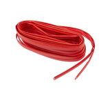 photo 2 of RS PRO Braided Acrylic Fibreglass Red Cable Sleeve, 6mm Diameter, 5m Length