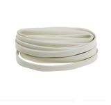 photo 2 of RS PRO Braided Fibreglass Natural Cable Sleeve, 12mm Diameter, 5m Length