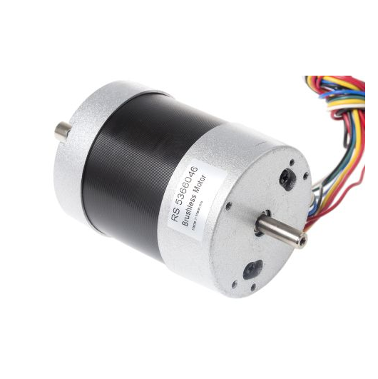photo 1 of RS PRO Brushless DC Motor, 36 V dc, 0.68 Nm, 4000 rpm, 8mm Shaft Diameter
