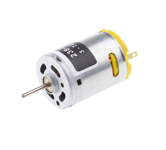 photo 1 of RS PRO DC Motor, 19.68 W, 3 → 7.2 V dc, 375 gcm, 19000 rpm, 2.3mm Shaft Diameter