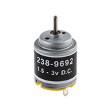 photo 2 of RS PRO DC Motor, 1.21 W, 1.5 → 3 V dc, 10.4 gcm, 8200 → 14000 rpm, 2mm Shaft Diameter