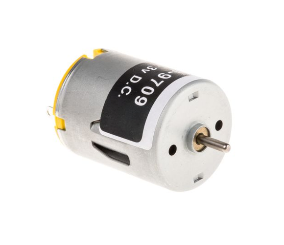 photo 1 of RS PRO DC Motor, 1.6 W, 1.5 → 3 V dc, 20 gcm, 7800 rpm, 2mm Shaft Diameter