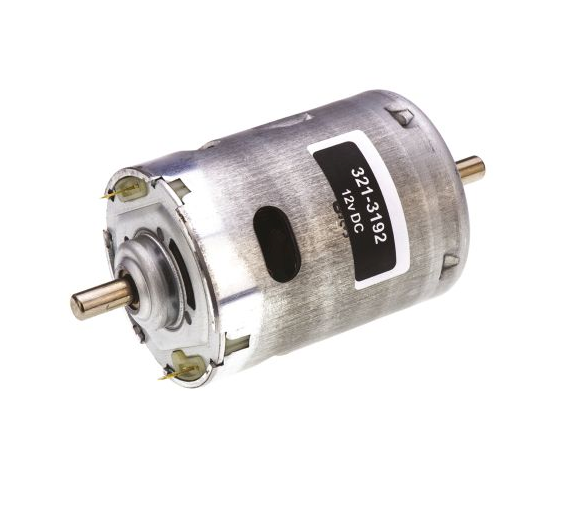 photo 1 of RS PRO DC Motor, 80.16 W, 12 V dc, 92.13 mNm, 8311 rpm, 6.35mm Shaft Diameter