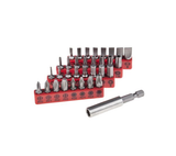 photo 1 of RS PRO Driver Bit Set 32 Pieces - Slotted, Phillips, Hex & Tamper Proof Torx
