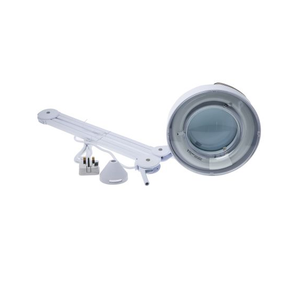 photo 1 of RS PRO Magnifying Lamp 3 dioptre 22W - Round Table Clamp Magnifier Lamps with Sun Cap