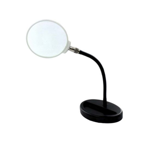 photo of Portable Magnifying Lamp, 3 Dioptre with Flexible Neck - Compact Table Magnifier