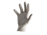 photo 2 of Natural Latex Gloves Size 9 Large, Pre-Powdered 1.5 AQL Examination Glove PPE, Food, Chemicals, Automotive