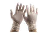 photo 1 of Natural Latex Gloves Size 7 Small, Powder-free 1.5 AQL Examination Glove PPE, Food, Chemicals, Automotive, Mechanics Gloves