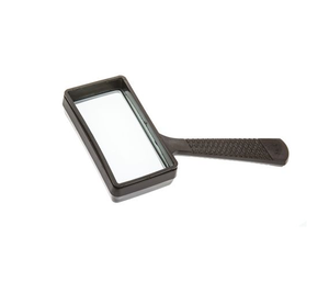photo of RS PRO Pocket Magnifying Glass, 3x x Magnification, 100 x 50mm