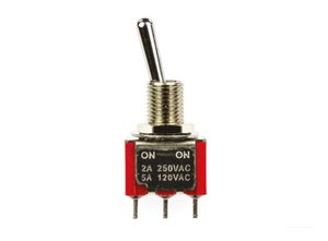 photo 1 of SPDT Toggle Switch Miniature Panel Mount Toggle Switches Latching, 5A AC Panel Mount