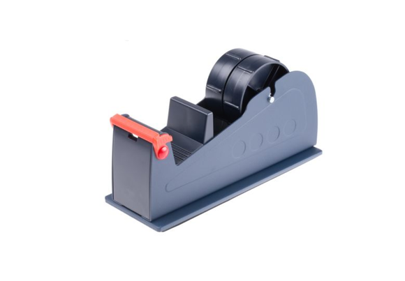 photo 1 of Metal Tape Dispenser for 1 x 50 mm or 2 x 25 mm Width Tape, Heavy Duty, Dual Bench Top Tape Dispensers