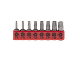 photo 2 of RS PRO Torx Driver Bit 8 pieces, T8 to T40