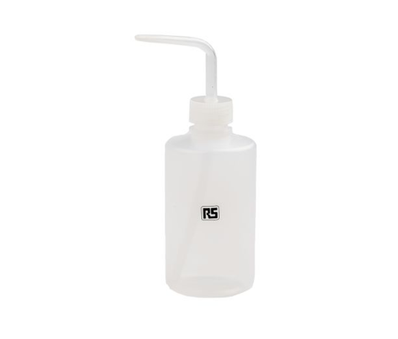 photo 1 of rs PRO Translucent 225mL Squeeze Bottle, Squeeze Dispensers for Oils, Solvents & Cleaners, Angled Non-drip Spout