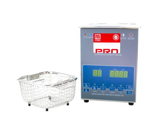 photo of PROFESSIONAL Ultrasonic Cleaner, 100W, 2L with Lid - Ultrasound Cleaning Tanks
