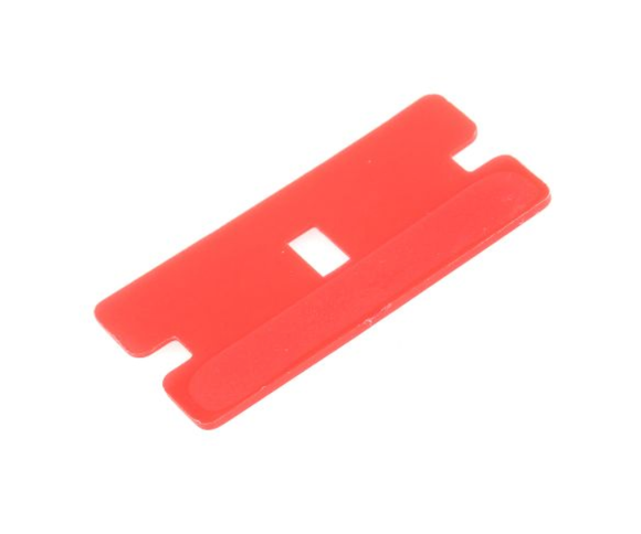 photo of PRO Plastic Razor Scraper Blade - Box of 100 Plastic Single Sided Blades